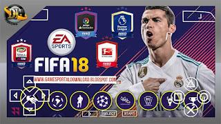 FIFA 2018 Apk ISO PPSSPP Zip