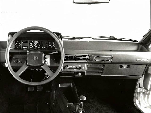 VW Voyage 1991 - interior