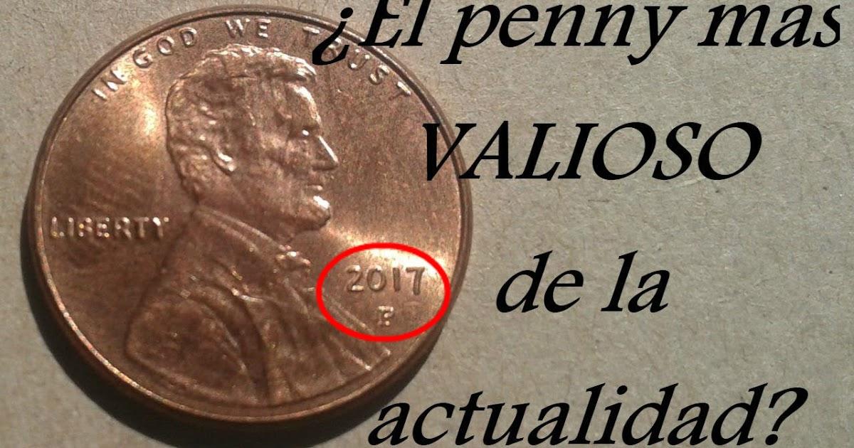 El Penny millonario/ centavo del 2017 P