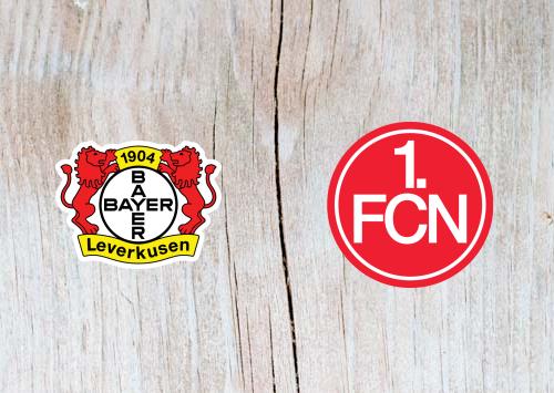 Bayer Leverkusen vs Nurnberg - Highlights 20 April 2019