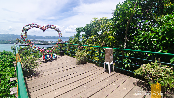 Mount Luho View Deck Boracay Heart Flower