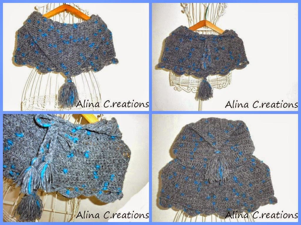 lo spazio di lilla: A gentile richiesta...Crochet capelet ...