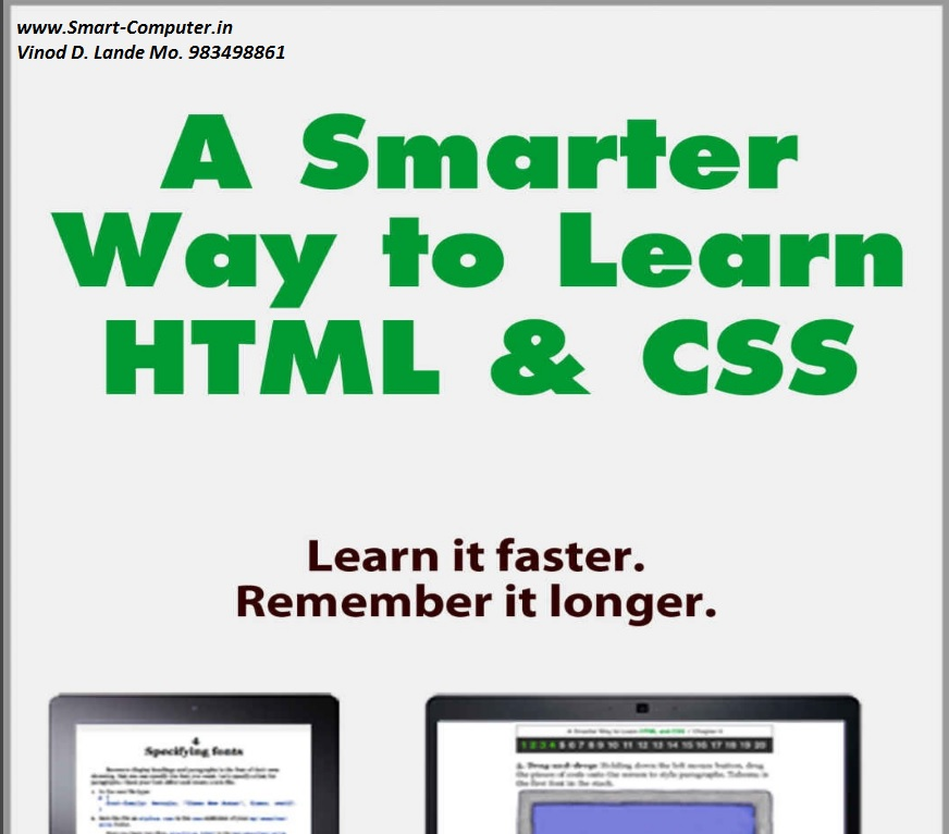 A Smarter Way To Learn Html & Css Pdf