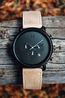 contoh jam tangan kece merek Chrono Gunmetal
