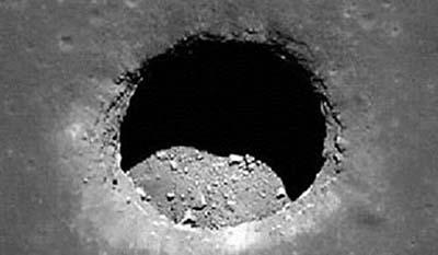 Este agujero inmenso en la Luna ha causado revuelo
