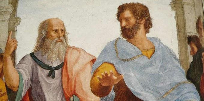 Plato dan Aristoteles:  Hylemorfisme sebagai Kritik terhadap Ke-adiduniawian Alam Ide