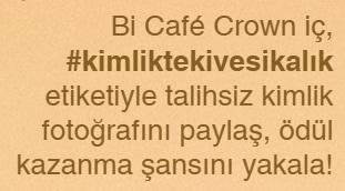 Cafe Crown Kimlik Fotoğrafı Kampanyası