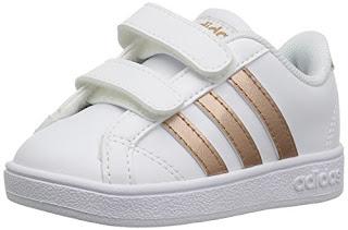 promo code 0032e 3493b adidas Performance Baby Baseline, WhiteCopper MetallicBlack, 9K M US  Toddler 2019