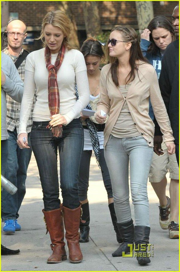 Amal8ousia Blake Lively And Leighton Meester Friends