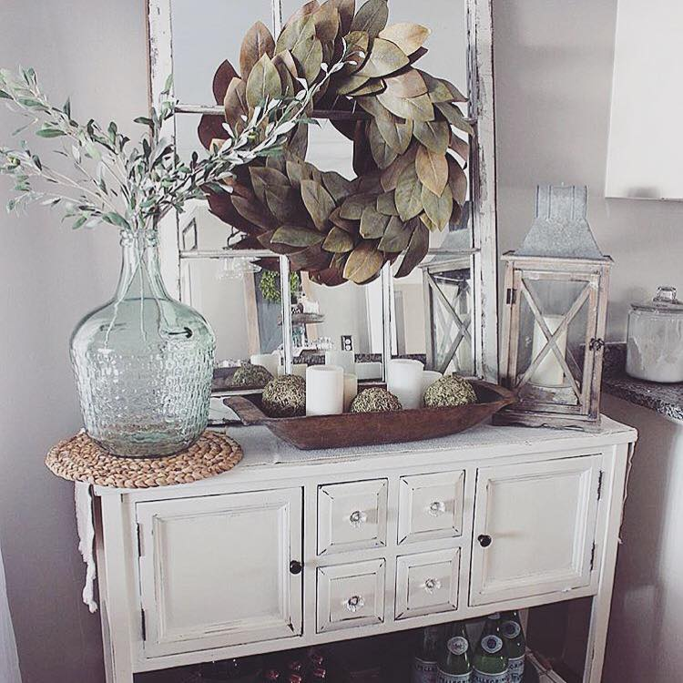 Dining Room Buffet Decorating Ideas: How To Decorate A Dough Bowl