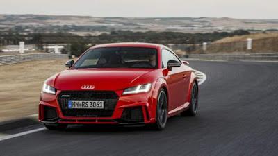 2018 Audi TT RS: Date de sortie et Prix