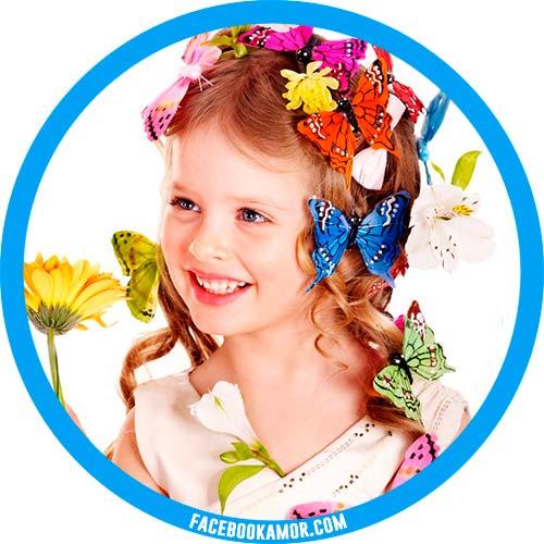 imágenes de niña para perfil