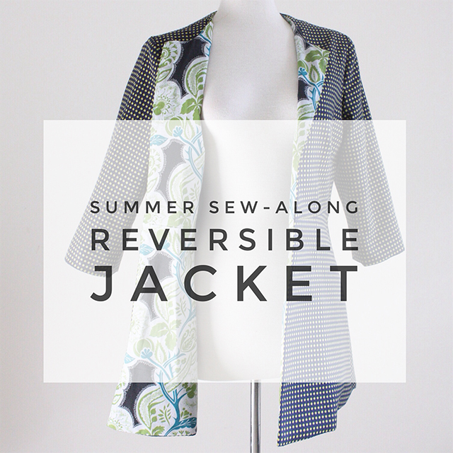 how to make reversible jacket