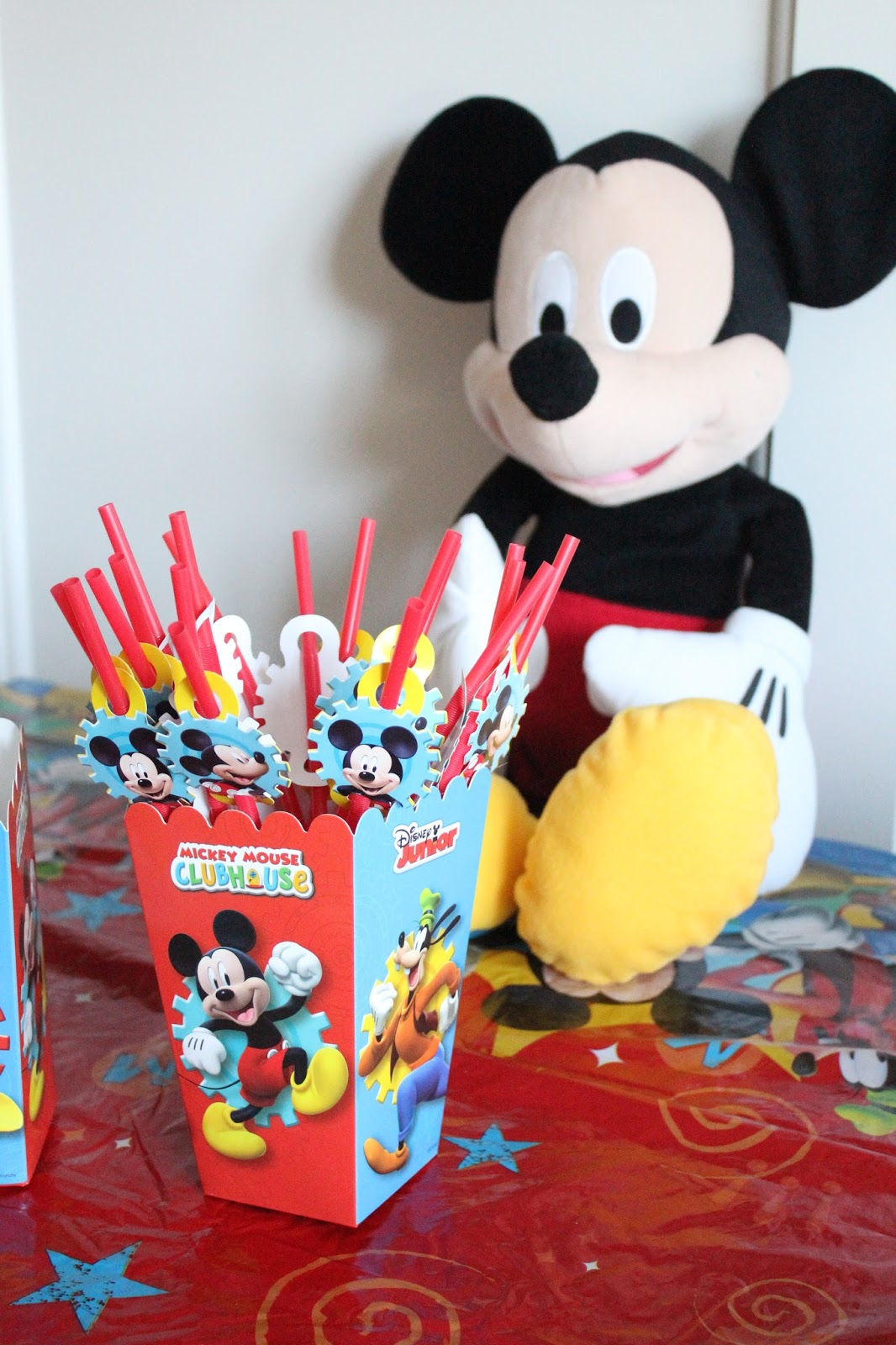Mickey Mouse Straws