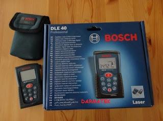 Darmatek Jual Bosch DLE 40 Professional Laser Meter