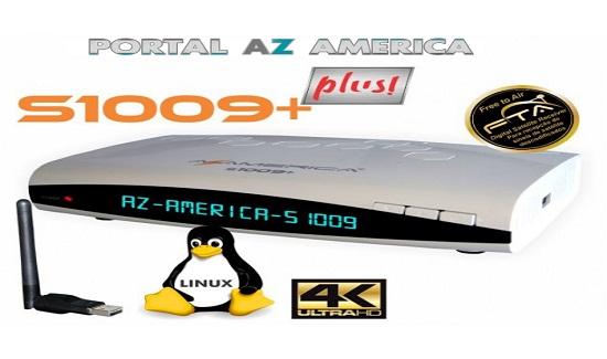 Resultado de imagem para AZAMERICA S1009 PLUS  portal azamerica