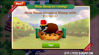 FarmVille 2: Country Escape, Sheep, Costume Sheep