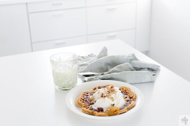 kaura-manteli vohvelit