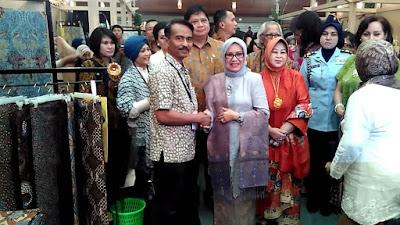 Batik Tulis Asal Trenggalek Ikut Ambil Bagian dalam Gelar Batik Nusantara