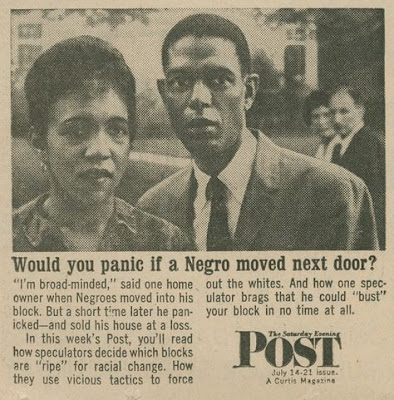 Saturday Evening Post - Would you panic if a Negro moved next door?