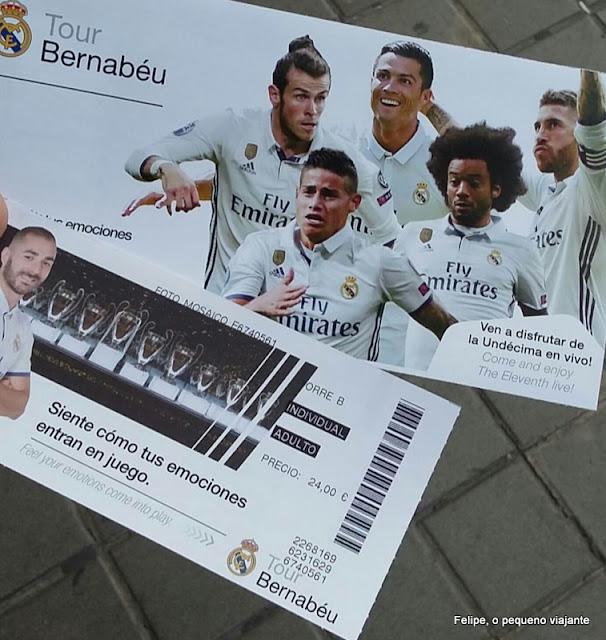 estádio de futebol Santiago Bernabéu em Madrid, Espanha