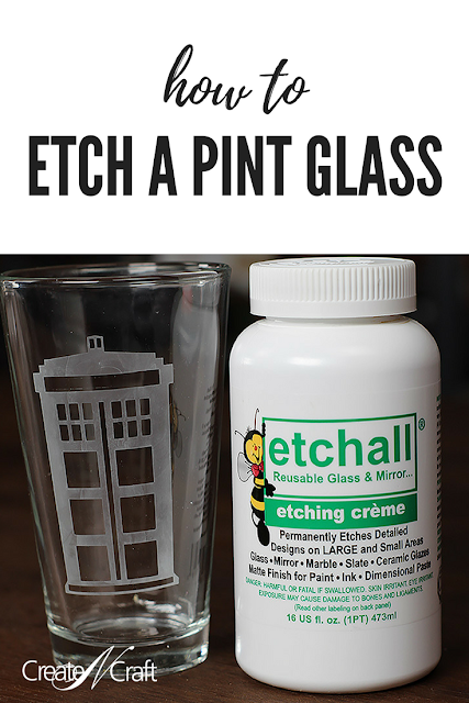 DIY Etch a Pint Glass