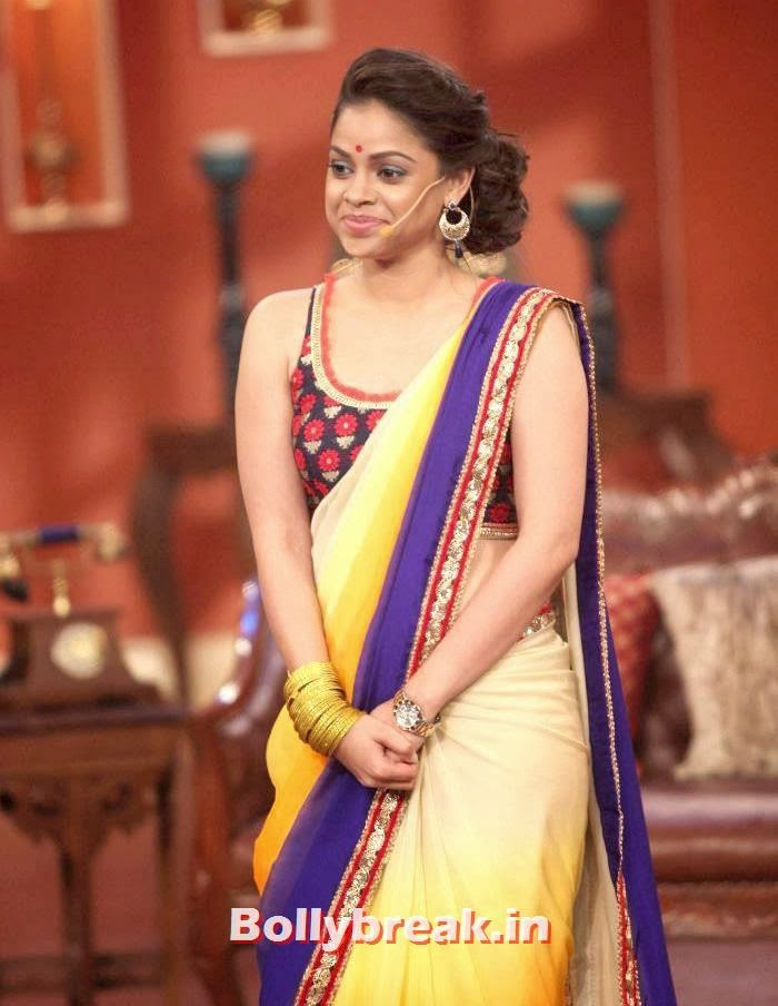 Sumona Chakravarti, Sumona Chakravarti Comedy Nights with Kapil Pics