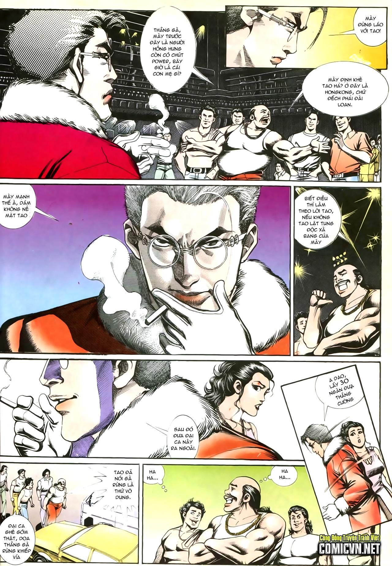 Người Trong Giang Hồ chapter 207: nhật ký đau lòng trang 11