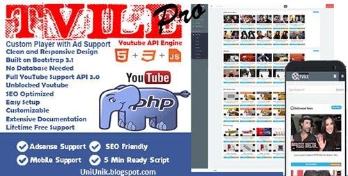 Script Tube Youtube API Engine Pro v1.0