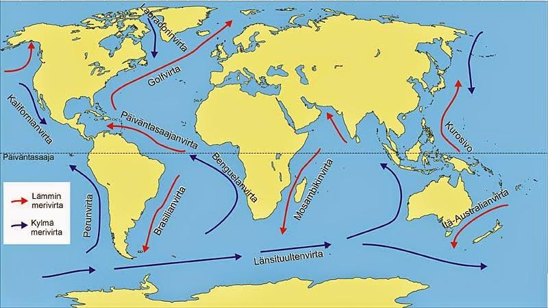 Välimeren Lämpötila