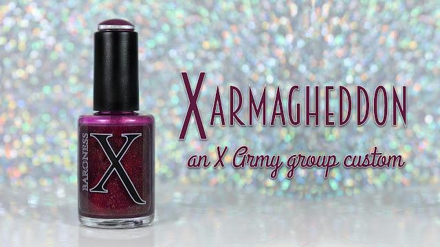 Baroness X Group Custom   X Armagheddon