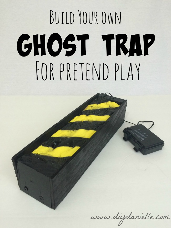 How to DIY a Ghostbuster's Inspired Muon or Ghost Trap.