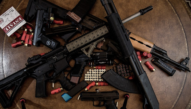 What would happen if guns disappeared from the world?