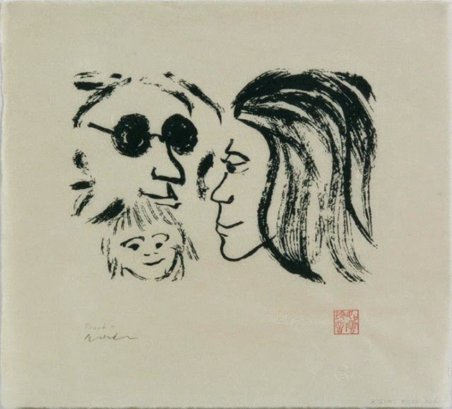 John Lennon As An Artist His Unseen Drawings Art Sheep