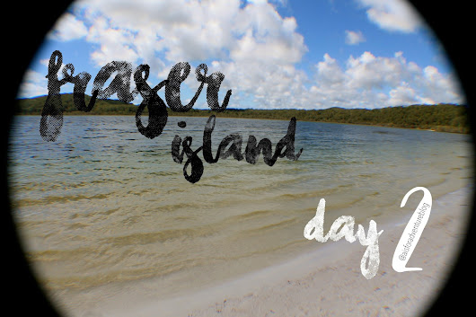 Fraser island day 2 - Tall trees and white sand - Australia