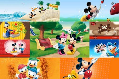 Wallpapers de Disney II (Mickey Mouse y Daisy)