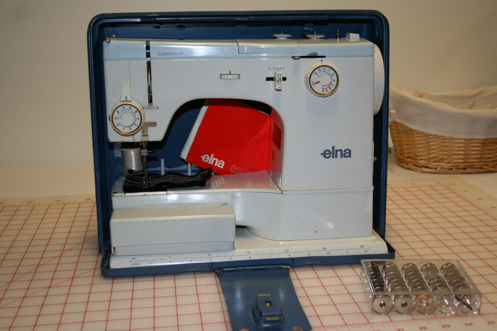 Not sure why, but Elna and Bernina usually provide two sewing machine  manuals. The first book is specific to the basic operation of the sewing  machine.