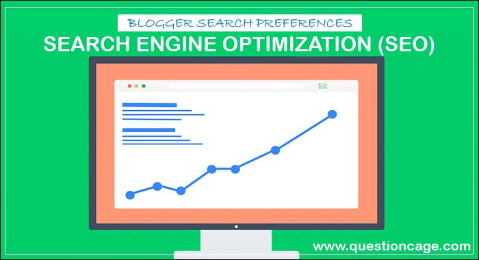Blogger Search Preferences