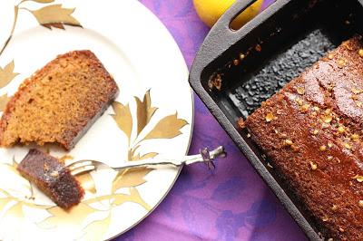 cake à la coriandre en poudre