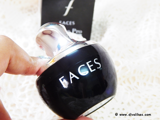 Faces Ultime Pro Mineral Loose Powder Packaging