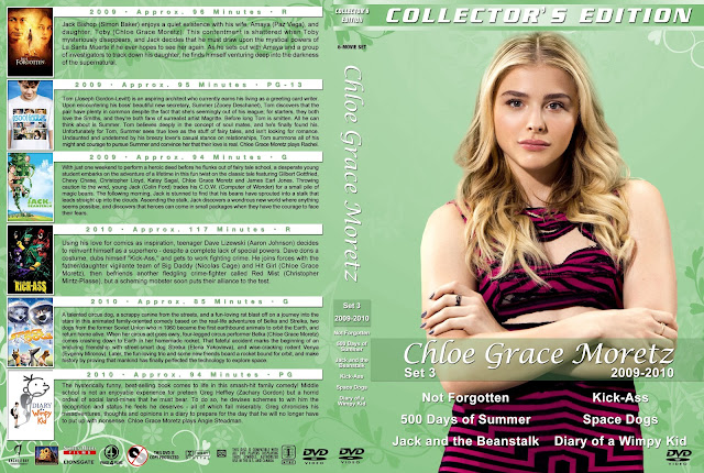 Chloe Grace Moretz Collection Set 3 DVD Cover
