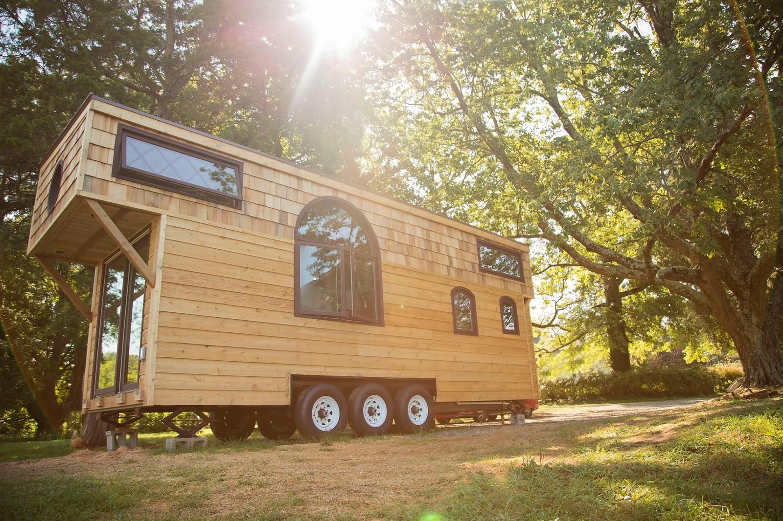 Old World Vermont Tiny Home 300 Sq Ft TINY HOUSE TOWN