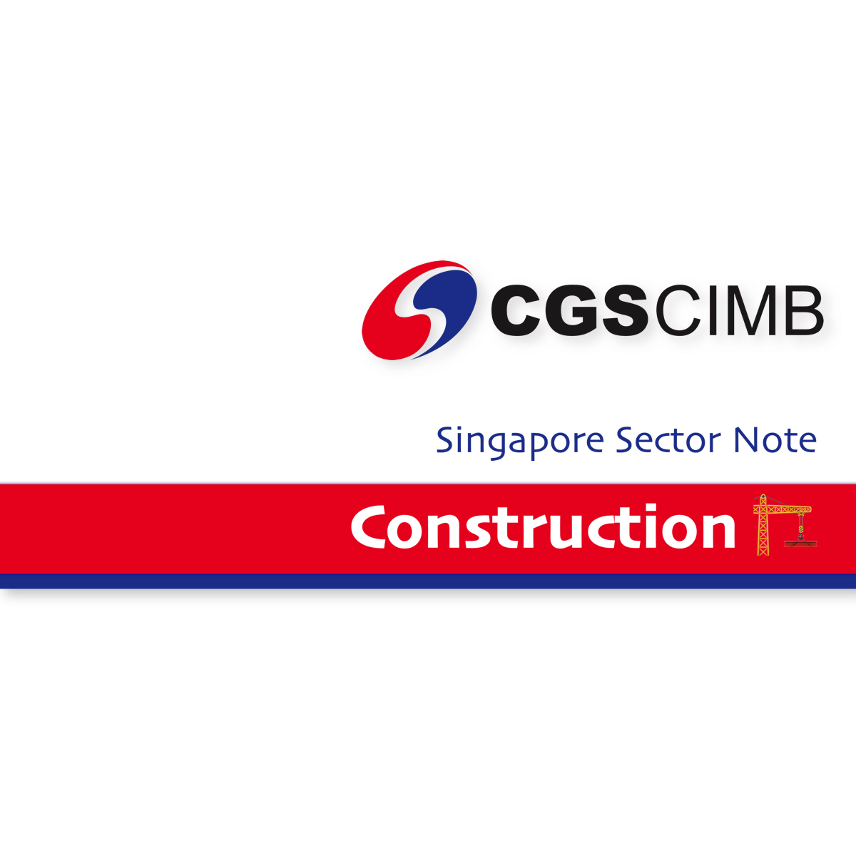 Construction Sector Singapore - CGS-CIMB Research  | SGinvestors.io
