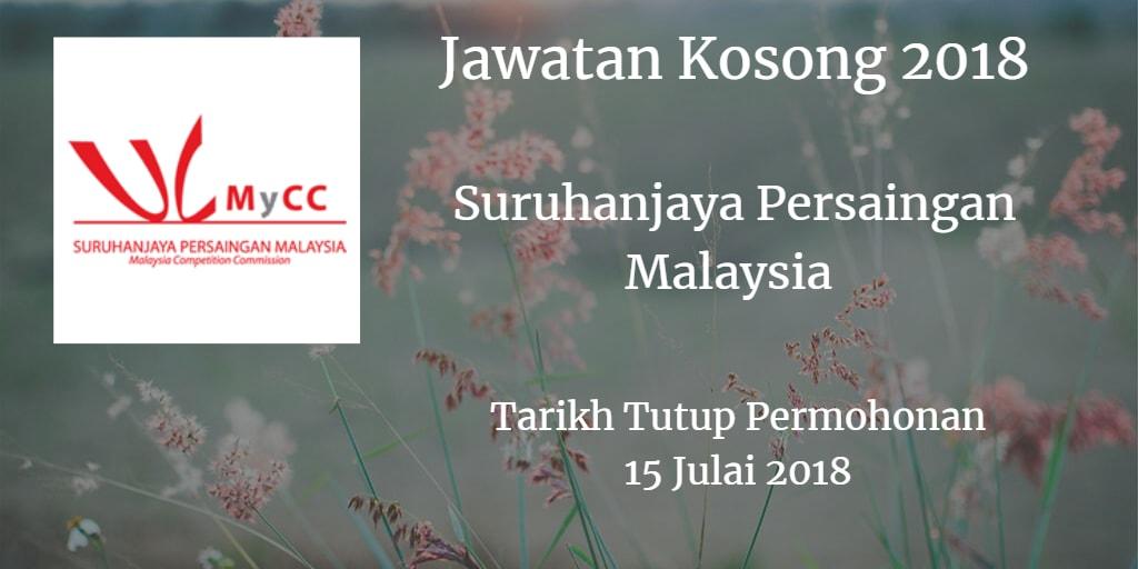 Jawatan Kosong MyCC 15 Julai 2018