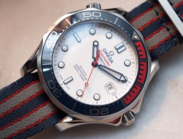 Replica Omega Seamaster Diver 300M James Bond Limited Edition Review