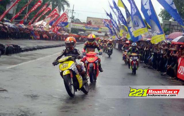 Hasil Final Kejurda Road Race PONOROGO, Rider Tamu HERJUN AF Sabet Double Winner