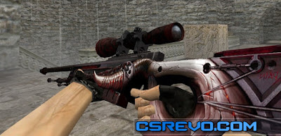 Skin AWP - Damnation (CS:GO) HD para CS 1.6