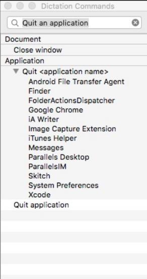 memberiikan perintah suara pada os mac