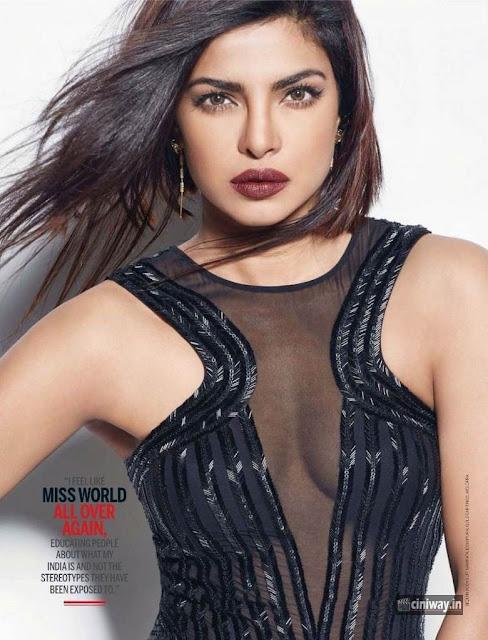 Priyanka Chopra Femina Magazine Photoshoot