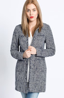 Vero Moda - Palton Rana din material ornamentat • Vero Moda